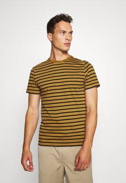 Farah - INDIA - T-shirt print - olive/brown