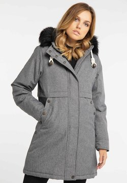 DreiMaster - Wintermantel - mottled grey