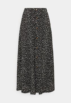 ONLY - ONLPELLA SKIRT - Falda larga - black