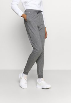 Lacoste Sport - WOMEN TENNIS TROUSERS - Jogginghose - pitch chine