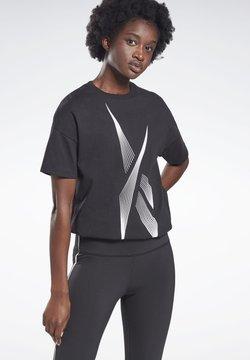 Reebok - Camiseta estampada - black