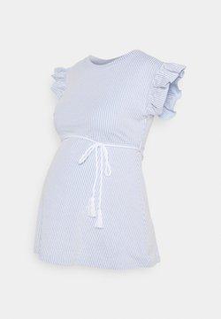 MAMALICIOUS - MLMAE - T-Shirt print - spectrum blue/white