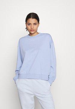 Weekday - HUGE CROPPED - Bluza - light lilac blue