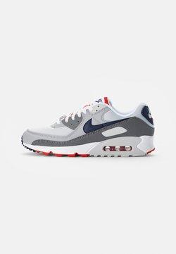 Nike Sportswear - AIR MAX - Sneakers laag - white, dark blue