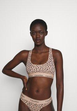 Calvin Klein Underwear - MODERN UNLINED BRALETTE - Top - savannah/honey almond