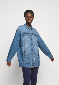 Noisy May Tall - NMFIONA JACKET - Chaqueta vaquera - light blue denim