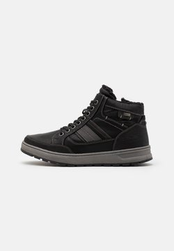 TOM TAILOR - Sneaker high - black