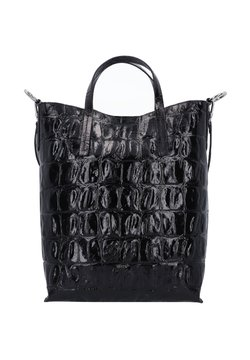 Abro - Shopping Bag - black/nickel