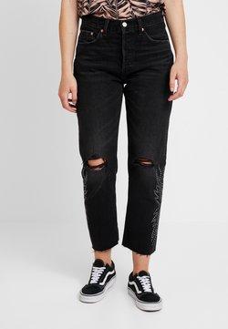 Levi's® - 501® CROP - Straight leg jeans - black canyon