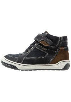 Lurchi - BARNEY-TEX - Sneakers hoog - atlantic/brown