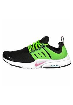 Nike Sportswear - PRESTO GS - Sneaker low - blk/pink/wht/green