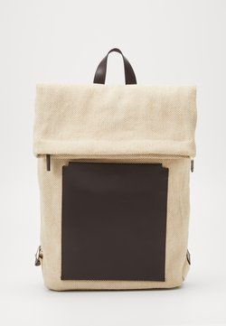 Zign - UNISEX LEATHER - Reppu - beige