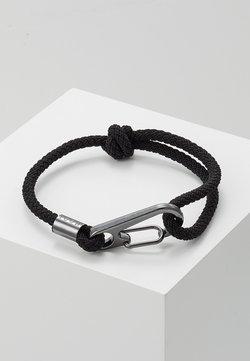 Icon Brand - HINDER CORD BRACELET - Bracelet - black