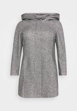 Vero Moda Curve - VMVERODONA - Kurzmantel - dark grey melange