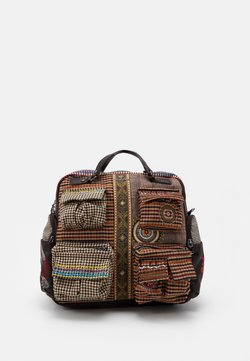 Desigual - BACK MILDRED RIBE - Reppu - brown