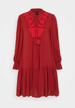 YAS Petite - YASCILLA DRESS BOHO - Day dress - red ochre