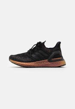 adidas Performance - ULTRABOOST 20 UNISEX - Laufschuh Neutral - core black/core black/signal pink
