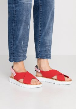 Camper - ORUGA - Sandals - medium red