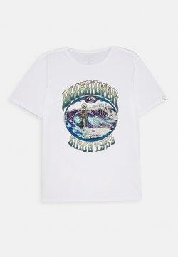 Quiksilver - LOST ALIBI YOUTH - T-shirt print - white