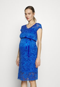 MAMALICIOUS - MLNEWMIVANA CAP DRESS - Cocktail dress / Party dress - dazzling blue