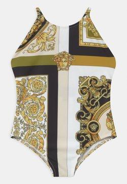 Versace - BEACHWEAR BAROCCO MOSAIC - Badpak - white/gold/kaki