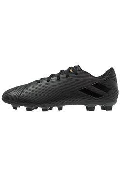 adidas Performance - NEMEZIZ 19.4 FXG - Moulded stud football boots - core black/utility black