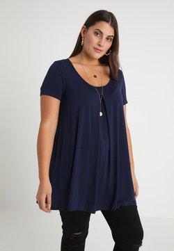 Anna Field Curvy - T-Shirt print - maritime blue