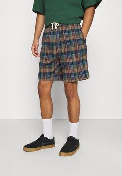 BDG Urban Outfitters - CHECK DRAWSTRING - Shorts - khaki