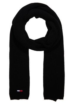 Tommy Jeans - BASIC FLAG SCARF - Schal - black