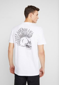 Quiksilver - DRUMTHERAPYSS - T-Shirt print - white