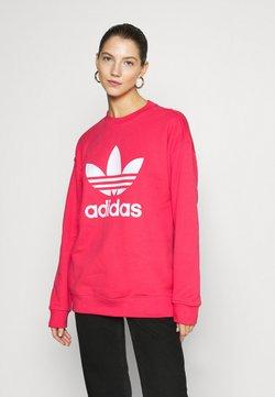 adidas Originals - CREW - Collegepaita - power pink/white