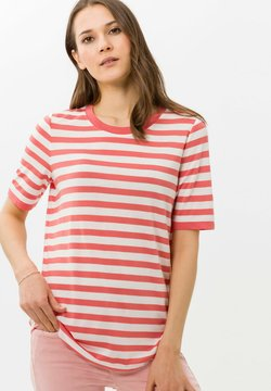BRAX - STYLE COLETTE - T-Shirt print - coral