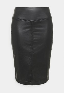 CAPSULE by Simply Be - PULL ON PENCIL SKIRT - Bleistiftrock - black