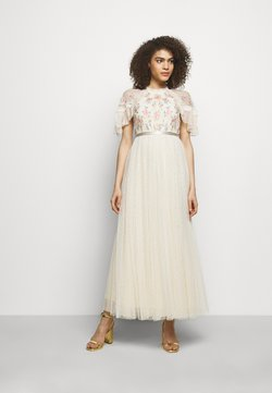 Needle & Thread - EMMA DITSY BODICE ANKLE MAXI DRESS - Ballkjole - champagne
