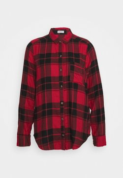 Hollister Co. - UPDATE - Bluse - red/black