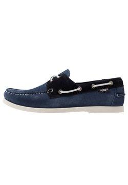 Hackett London - Chaussures bateau - denim/navy