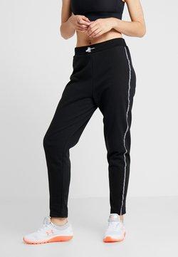 South Beach - REFLECTIVE SPORTS STRIPE - Jogginghose - black