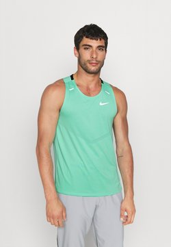 Nike Performance - RISE TANK - Funktionsshirt - green glow/reflective silver