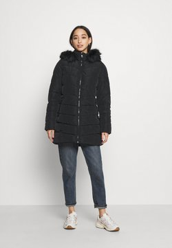 ONLY - ONLNEWMINEA QUILTED HOOD COAT - Parka - black