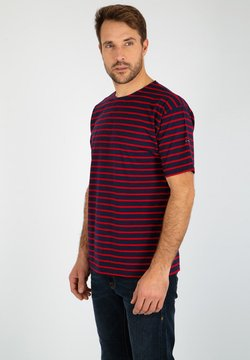 Armor lux - THEVIEC MARINIÈRE - T-Shirt print - navire braise