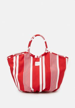 Seafolly - CARRIED AWAY CLASSIC STRIPE TOTE - Strandaccessoire - chilli