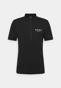 Mons Royale - CADENCE HALF ZIP  - T-Shirt print - desert alchemy