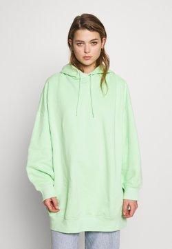 Monki - BAE HOODIE UNIQUE - Bluza z kapturem - green bright