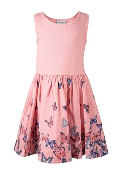 happy girls - Freizeitkleid - flamingo