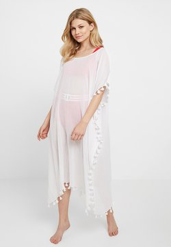 Seafolly - MIDI AMNESIA KAFTAN - Beach accessory - white