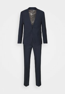 Esprit Collection - PINSTRIPE - Anzug - dark blue