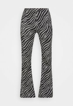ONLY Tall - ONLLIVE LOVE FLARED PANTS - Stoffhose - dark grey