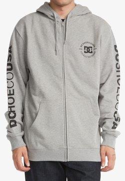 DC Shoes - STAR PILOT  - Sweater met rits - heather grey