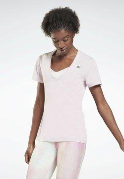 Reebok - ACTIVCHILL - T-shirt basic - pink