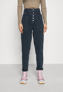 Topshop - SANDRA - Jeans Relaxed Fit - blue black